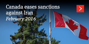 Canada eases sanctions against Iran