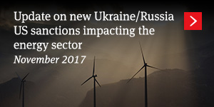 Update on new Ukraine/Russia US sanctions impacting the energy sector