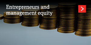Entrepreneurs and management equity