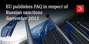 EU publishes FAQ in respect of Russian sanctions