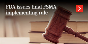 FDA issues final implementing rule