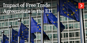 Impact of FTAs in the EU