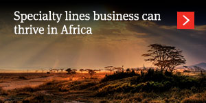 Specialty lines business can thrive in Africa