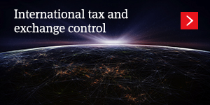 International tax and exchange control