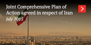 Joint Comprehensive Plan of Action agreed in respect of Iran