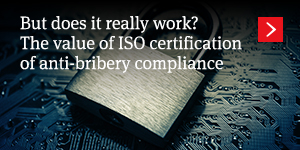 But does it really work? The value of ISO certification of anti-bribery compliance