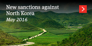 New sanctions North korea