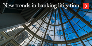 New trends in banking litigation