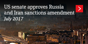 US senate approves Russia and Iran sanctions amendment