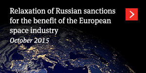 Relaxation of Russian sanctions for the benefit of the European space industry