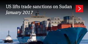 US lifts trade sanctions on Sudan