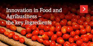 Innovation in Food and Agribusiness – the key ingredients