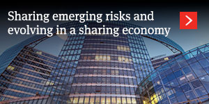 Insuring collaborative consumption: Sharing emerging risks and evolving in a sharing economy