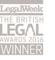 British Legal Awards 2016 Property Team of the Year