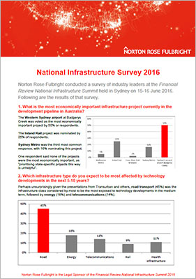 national infrastructure survey 2016 thumbnail