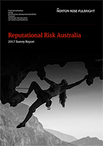 Reputational Risk Survey