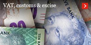 VAT, customs & excise