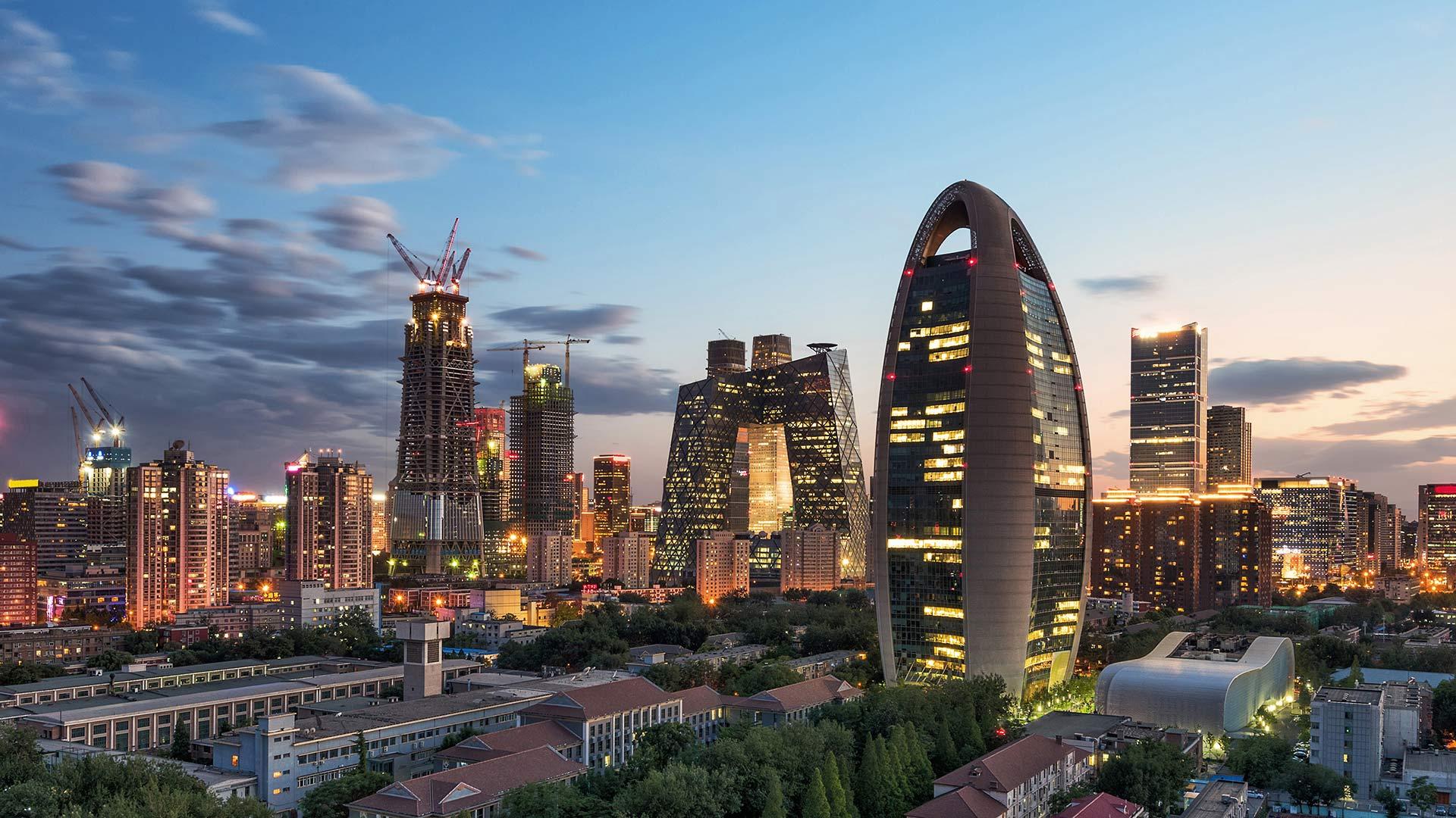 china skyscrapers