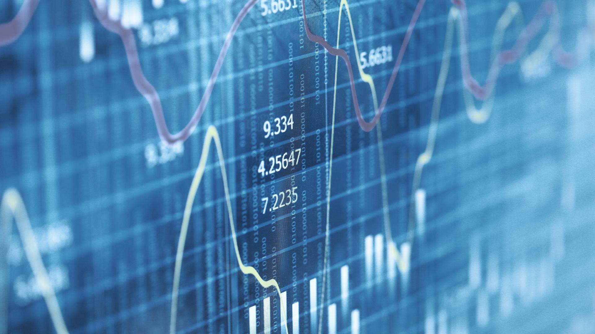 chart blue data