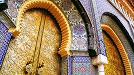 Morocco Colorful Door