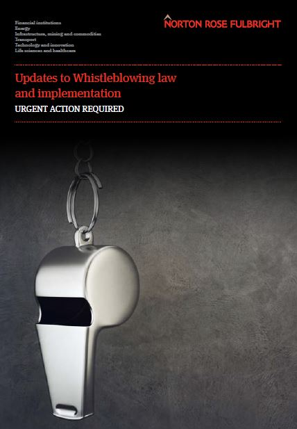 Whistleblowing packages