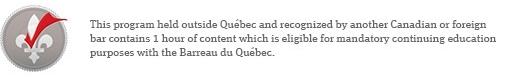 CPD banner for Quebec