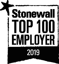 stonewall top 100 employer 2019