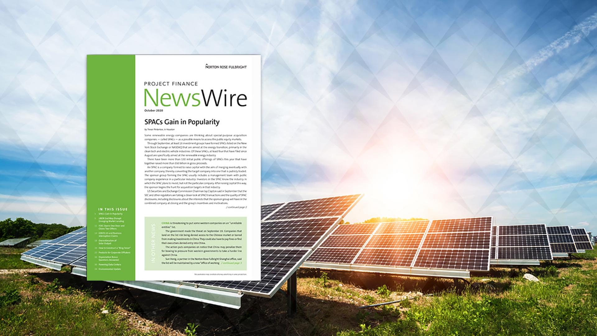 Project Finance NewsWire