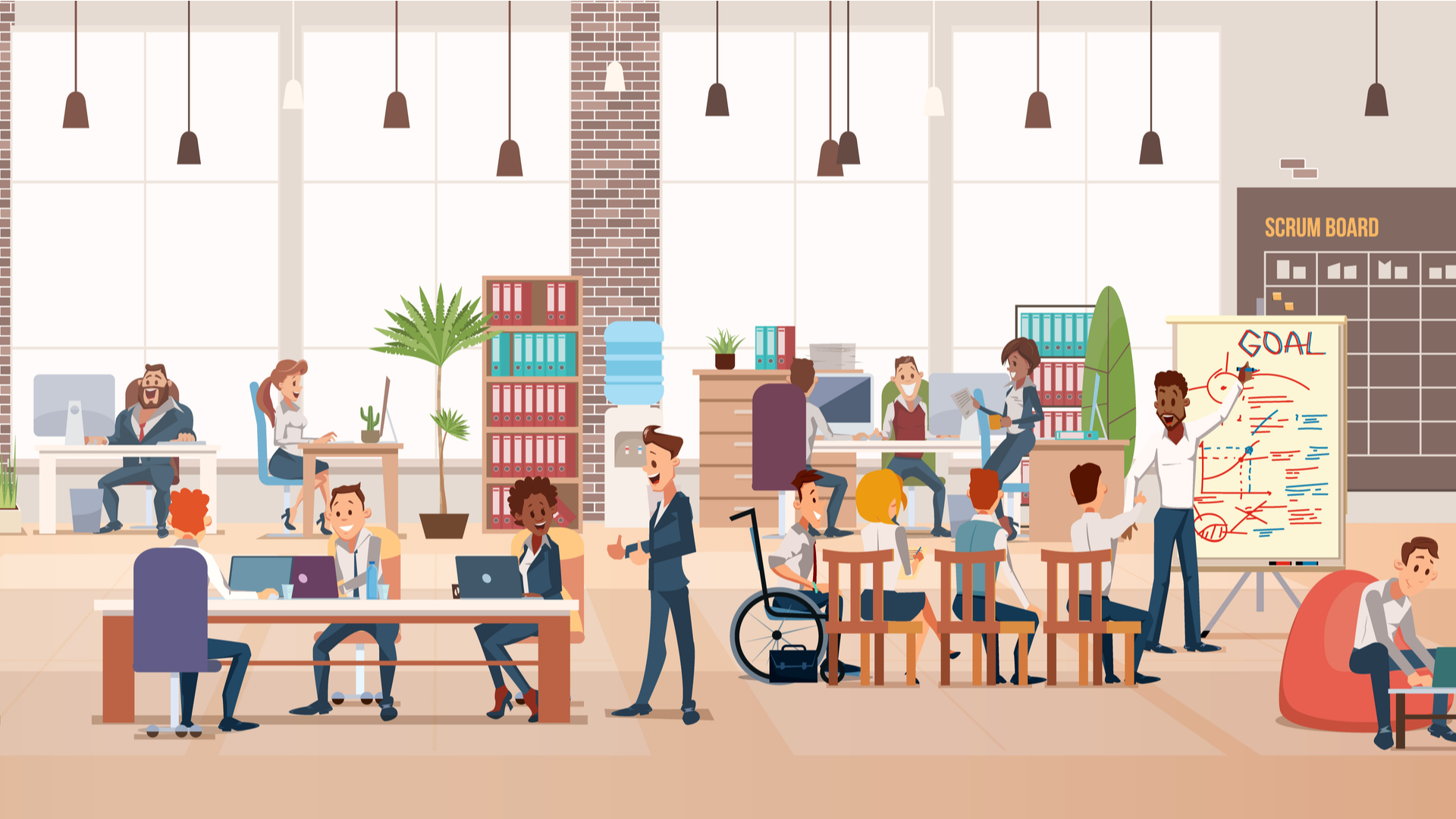 The disrupted workplace and intellectual property