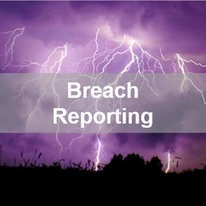Breach reporting