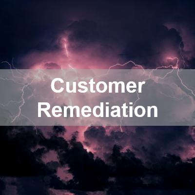 customer remediation