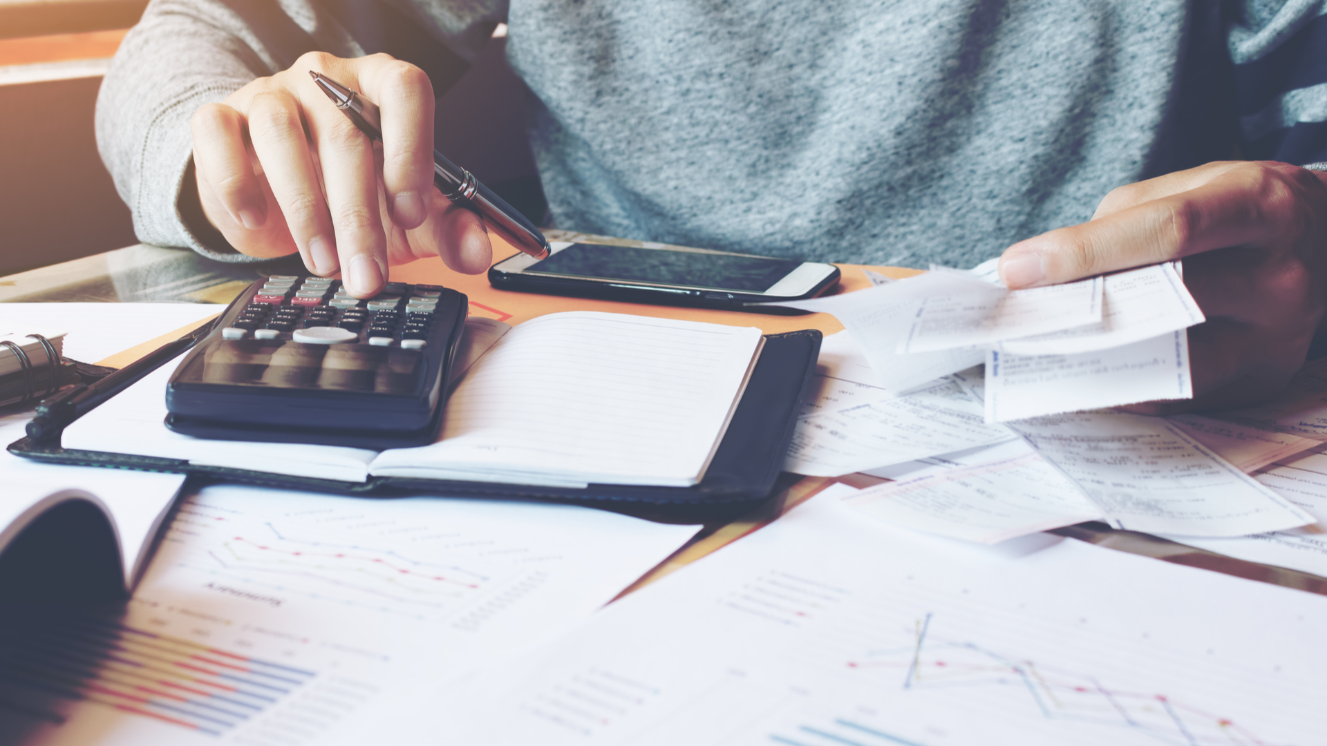 Calculating tax at home