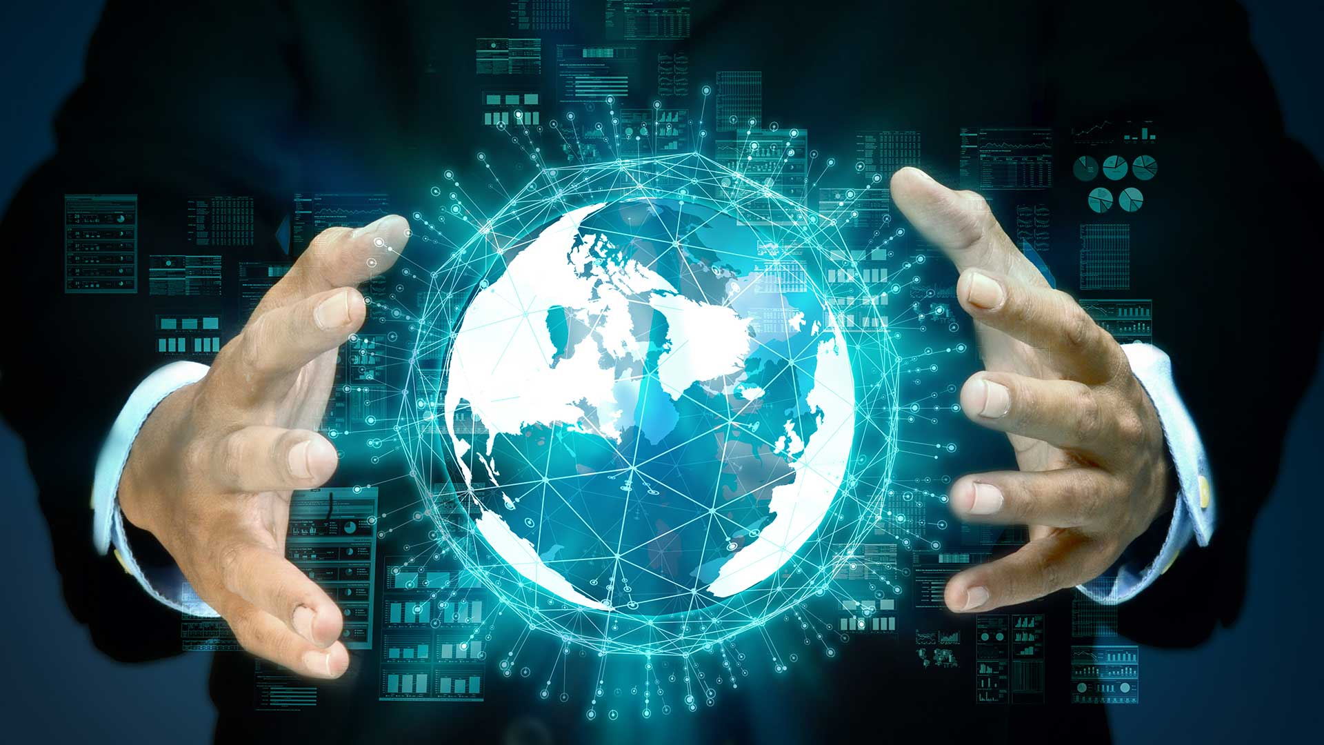 Internet big data concept