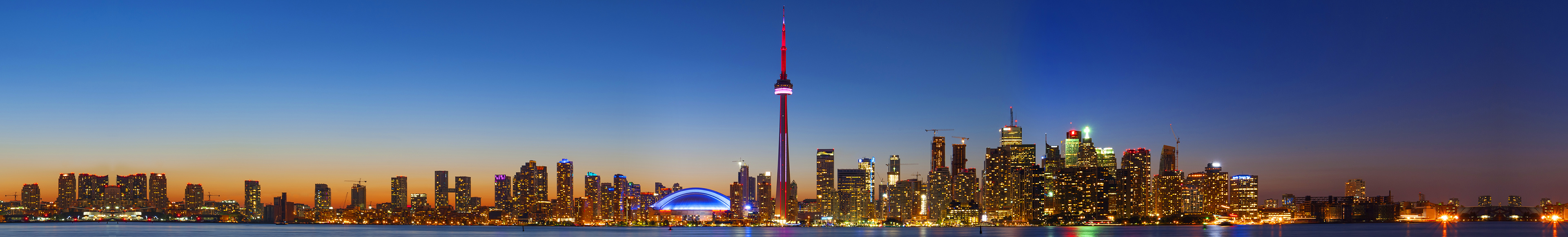 Image of Toronto night skyline