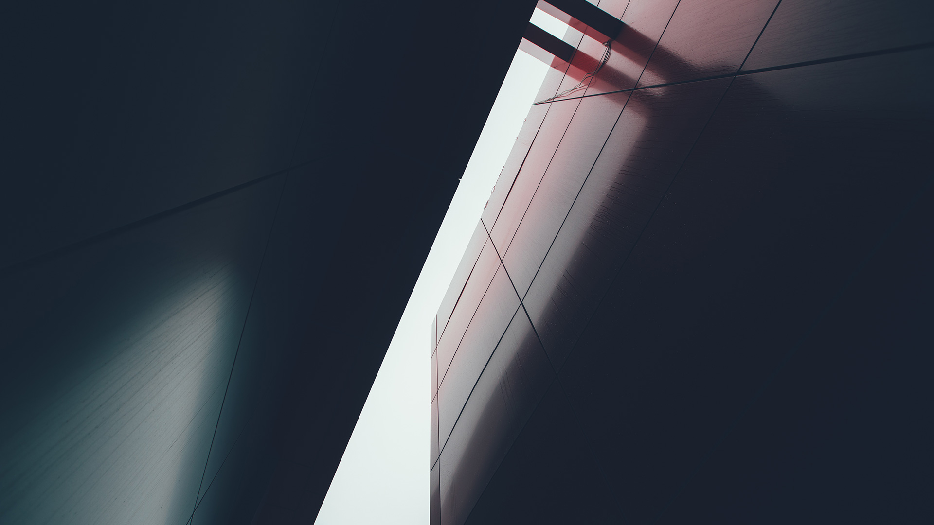 abstract steel building