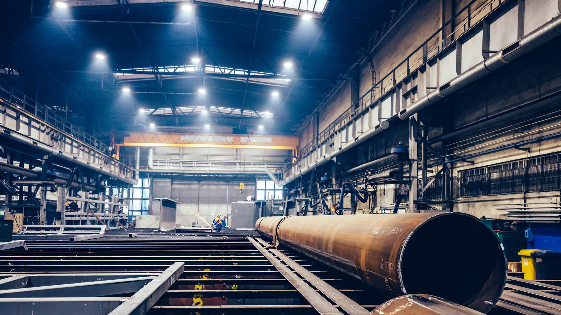 usine de fabrication