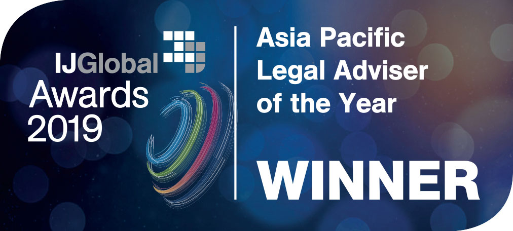 Asia pacific legal adviser of the year