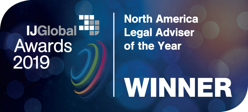 North america legal adviser of the year