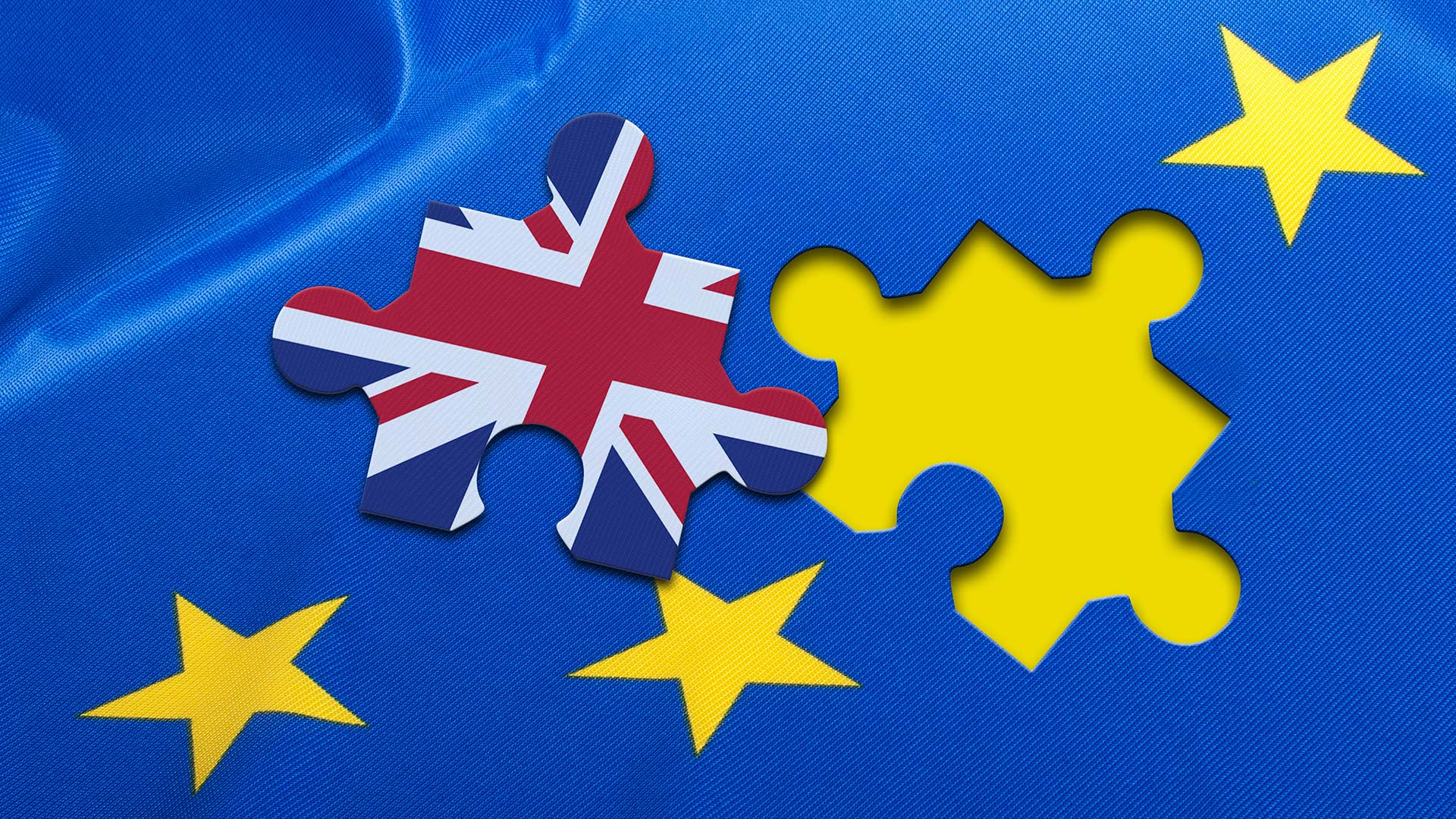 UK flag puzzle piece