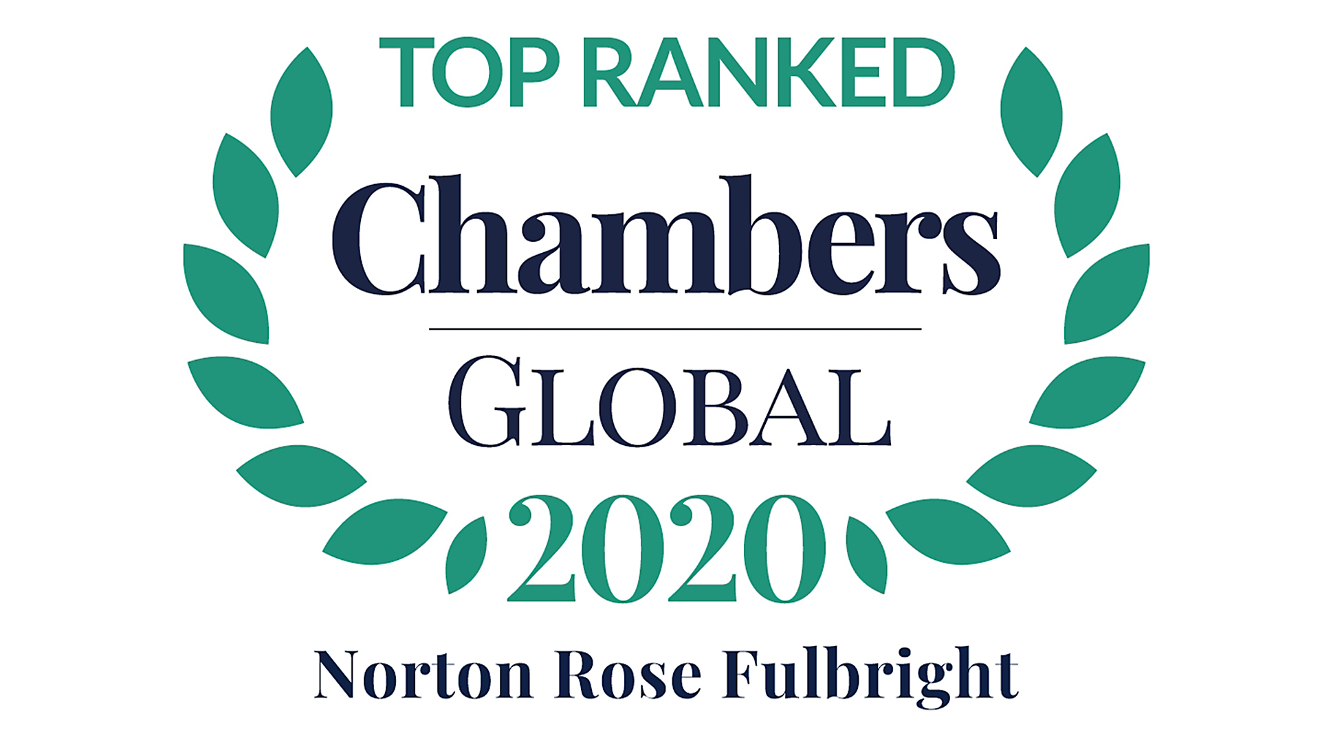 Top ranked Chambers Global 2020