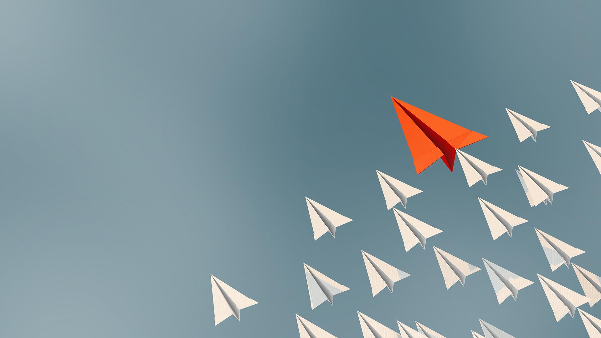 Diverse paper planes