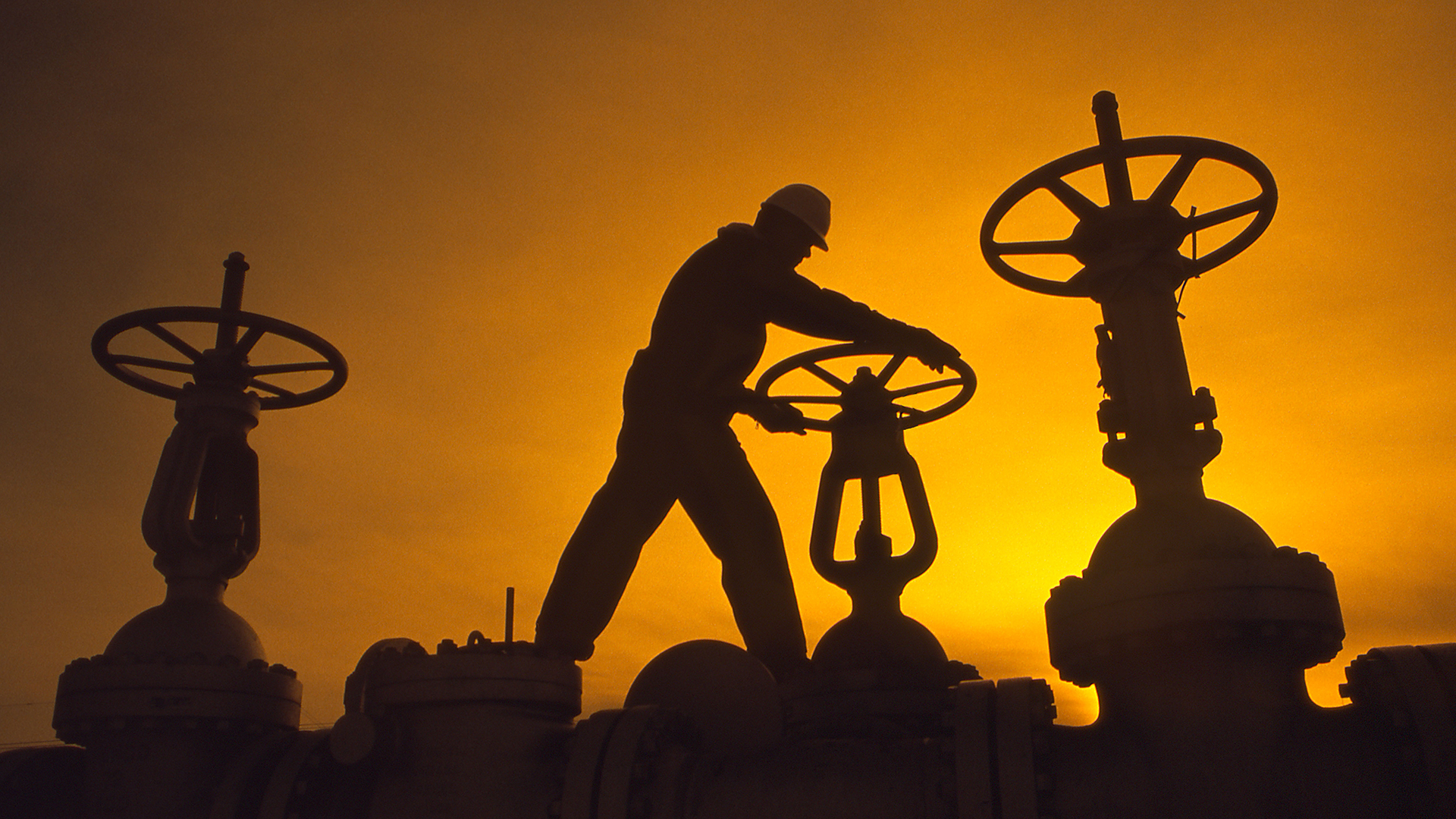 Oil and gas worker