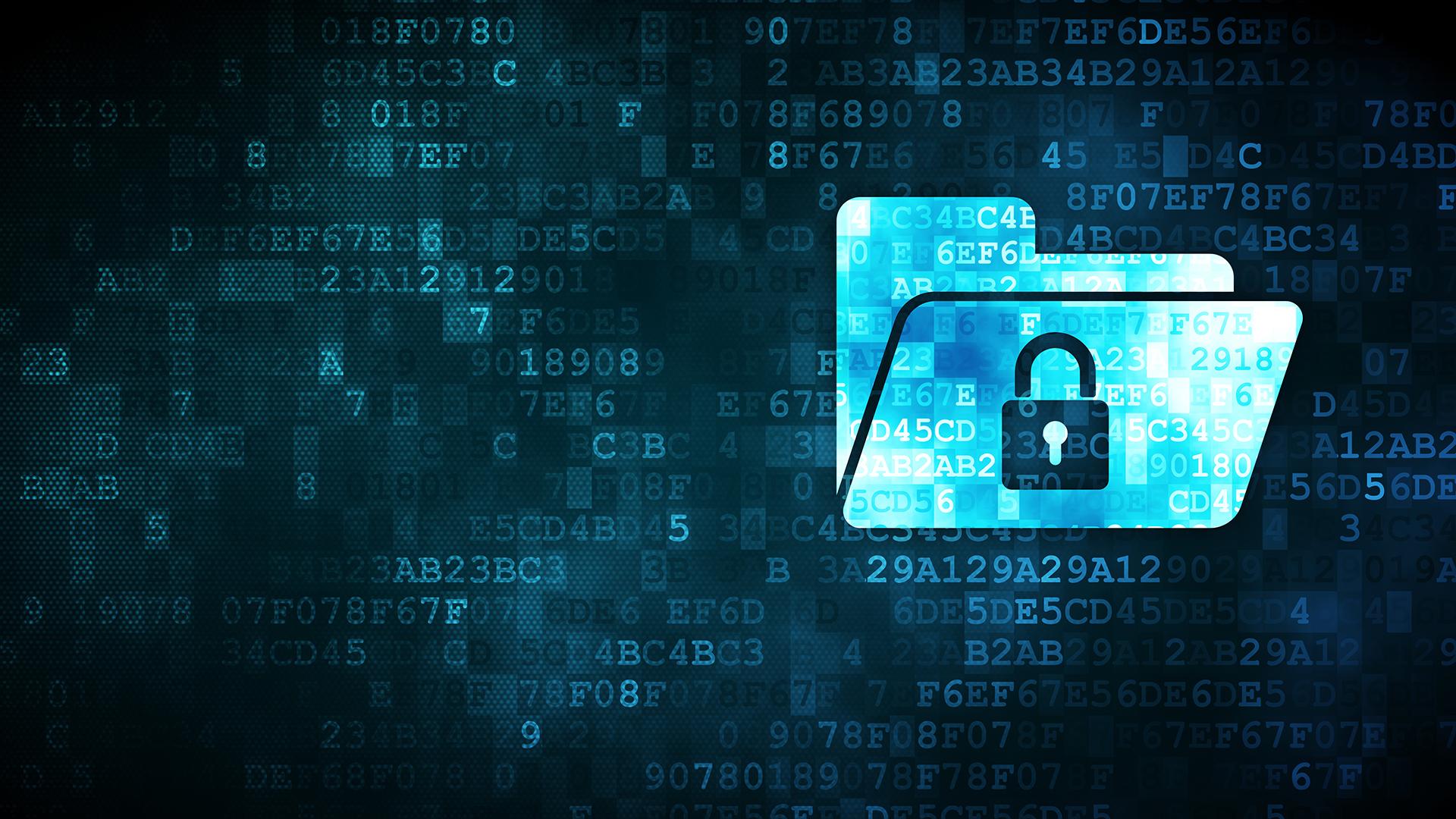 Secured digital folder